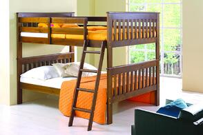 teens room with a bunbed
