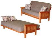 futon sofa and futon bed