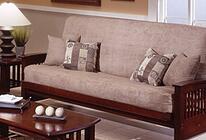 futon sofa setting