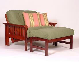 loveseat futon sleeper