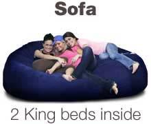 bean bag sofa bean bags that lounge sit or sleep  rh   futonstore memphis