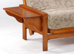 tray arm futon