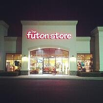 outside view of futon store