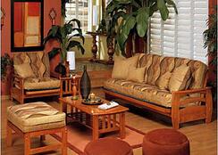 futon living room setting