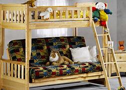 natural futon bunk