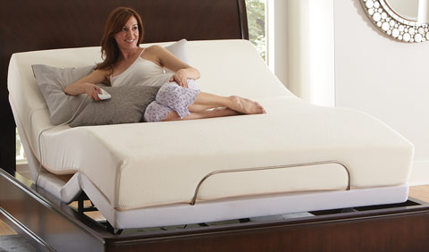 Adjustable Queen Frame and Mattress