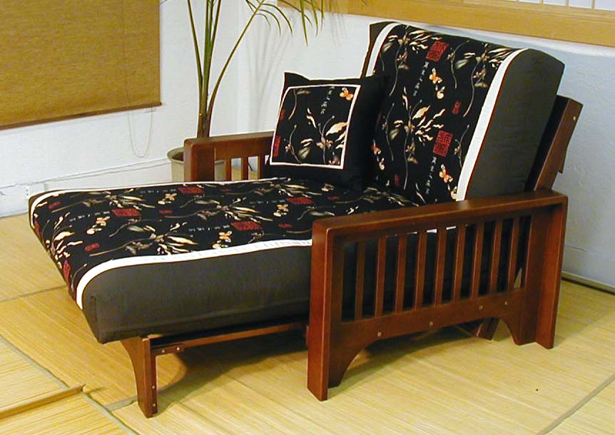 Get Cozy In A Futon Chair