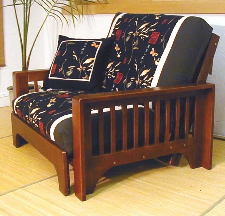 Twin futon bed