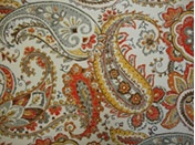 Hadia/ Sunset colored futon cover