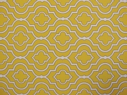 Scarlet yellow colored futon cover