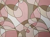Wigglytuff colored futon cover