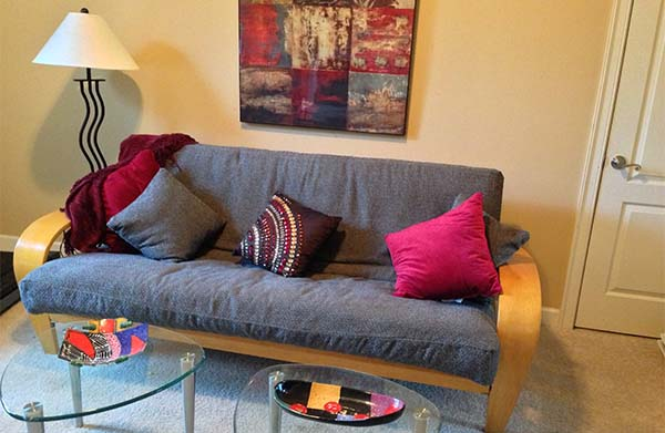 Futon Couch for Apartment Dwellers