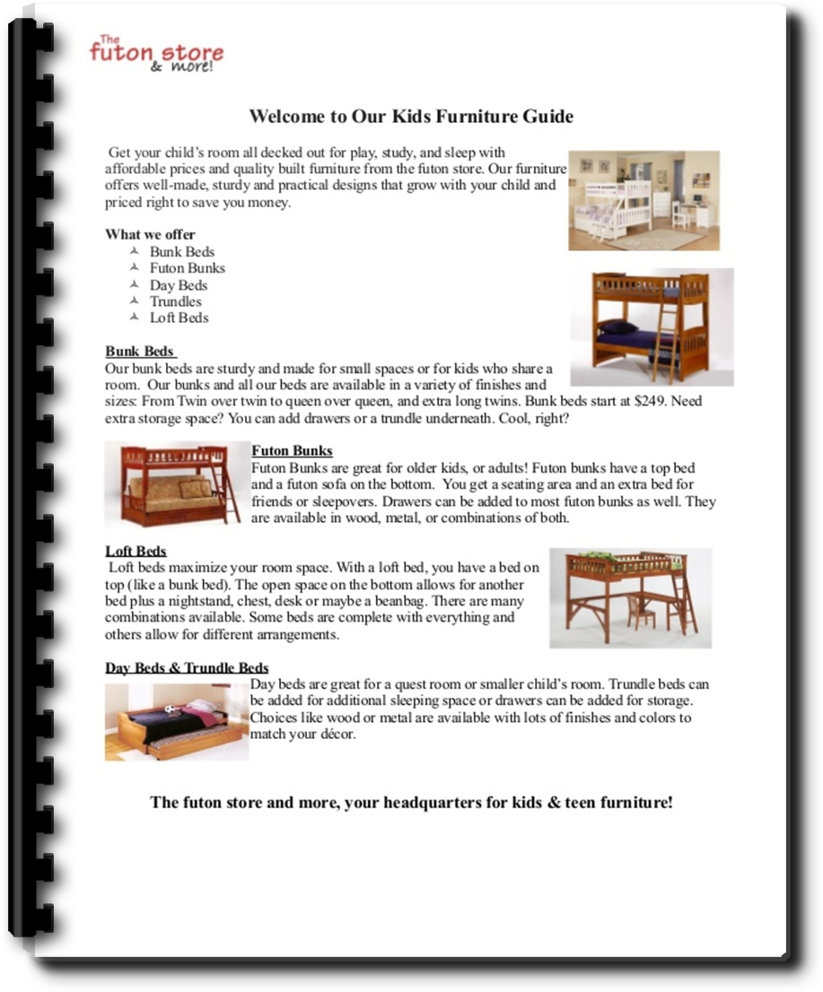 free download  the kids room furniture guide for 2015 futon lady u0027s blog  rh   futonstore memphis